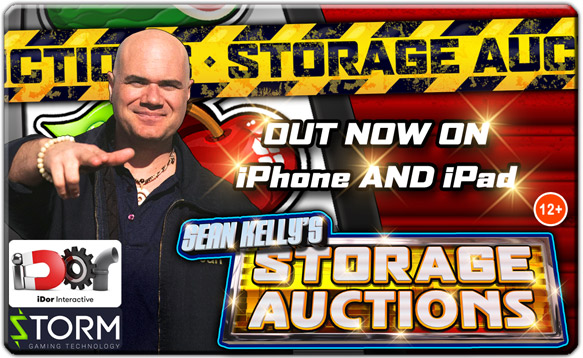 Sean Kelly's Storage Auctions for iPad, iPhone and iPod touch